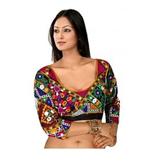 Indian Unstitched Gamthi Blouse
