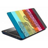 MeSleep Paisley Multicolor Laptop Skin