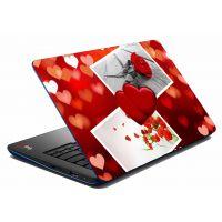 MeSleep Heart & Rose Laptop Skin