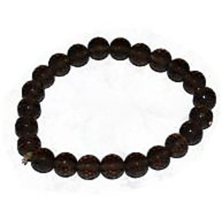 Kriti Feng Shui Diamond Cut Smoky Quartz Bracelet