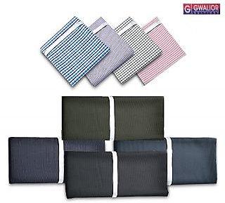 Gwalior Men's Premium Combo 3Trouser 3Shirt Fabric