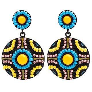 Designer Party Wear Antique Fashion Earrings