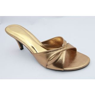 Get Glamr Women Copper Sandals-N3009