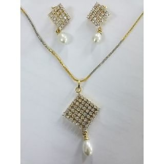 Beautiful Snake Chain Necklace Off White