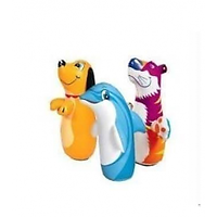 Intex Inflatable Bop Bag Tiger - Hit Me Toy For Childre