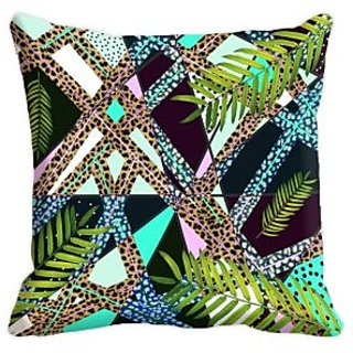 Mesleep 4 Pc Combo Digitally Printed  16X16 Inch Cushion Cover Glamorous