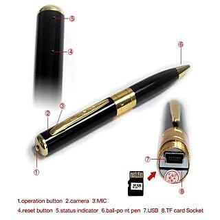 High Resolution Pen Hidden Spy Camera DVR