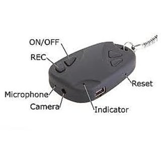Keychain Spy DVR Camera