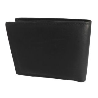 Black Wallet Mens Wallet-KN-Black-2