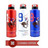 Beverly Hills Polo Club Deo For Men Combo Of 3