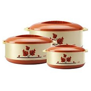 Set of 3 Pcs. Insulated Casserole