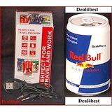 Red Bull Can Amazing & Cute Portable MP3 Player With Inbuilt High Quality Speaker. [CLONE]