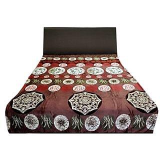 Valtellina Winsome Big Circles Design Double Bed AC Blanket (LVD-024)