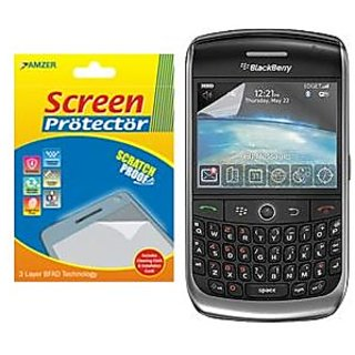 Amzer 82831 Kristal™ Clear Screen Protector for BlackBerry Curve 8900