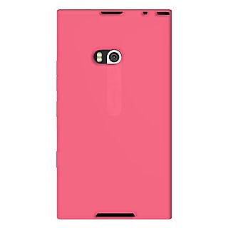 Amzer 93719 Silicone Skin Jelly Case - Baby Pink for Nokia Lumia 900