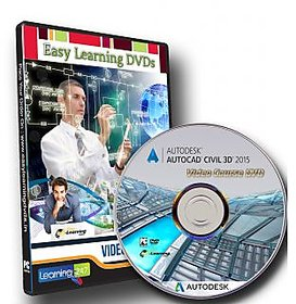 Learn AutoCAD Civil 3D 2015 Video Training Tutorial DVD