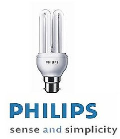 Philips 18W Cfl Set Of 2 White
