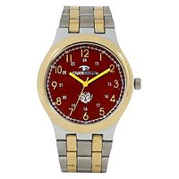 Tigerhills Round Dial Multicolor Metal Strap Quartz Watch For Men