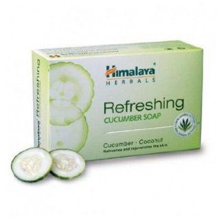 Himalaya Herbals Refreshing Cucumber Soap  75g (Pack of 3)