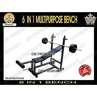 6 in 1 Bench Multipurpose