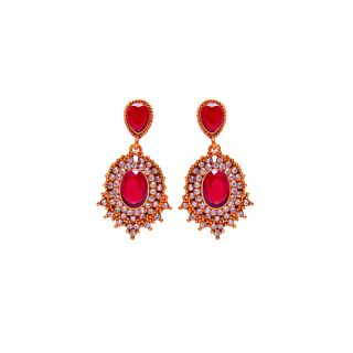 Jewelz Antique Collection Contemporary Hanging Earring