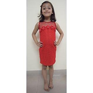 4df45740bcf2 Kids dresses baby clothing girls stylish black white Midi dress 3 4 ...