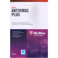 Mcafee Antivirus Plus 1 User- 1 Year Version Less