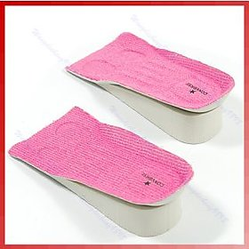 Height increase half,shoe insoles 3cms up for men and women.
