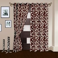 Story@Home Brown  Door Curtain Nature-DNR2018