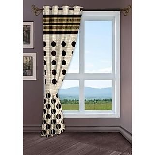 StoryHome Black Window Berry Curtain-WBR4007