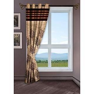 StoryHome Black Window Berry Curtain-WBR4009