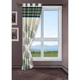 StoryHome Green Window Berry Curtain-WBR4011