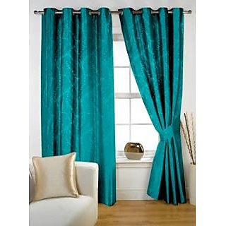 StoryHome Aqua Window Nature Curtain-WNR3035