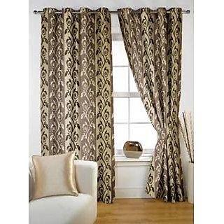 StoryHome Coffee Window Berry Curtain-WNR3038