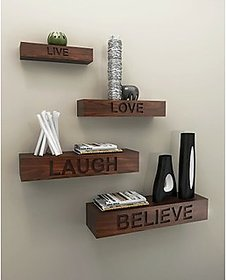 New Look Live Love Laugh Believe Wall Shelves