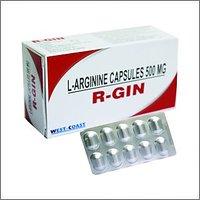 R-Gin L-Arginine Capsules 500 Mg 50 Capsules  -Pack Of 3