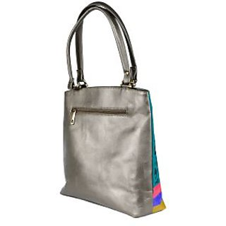 c7ad69cf2dcd Handbag - Hand Painted Handbags - Locked Masaba - Turquoise Color - By Rang  Rage