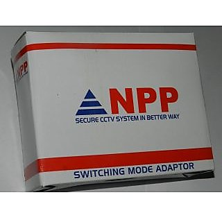 NPP CCTV POWER SUPPLY for 4 Cameras