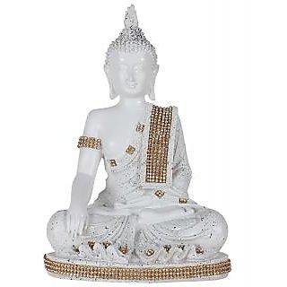TiiKart Meditating Buddha Sculpture