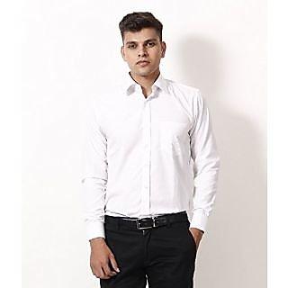 Frankline White Formals Shirts