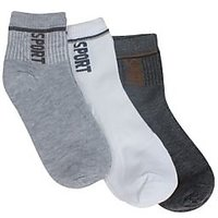 Mens Ankle Socks set of 3