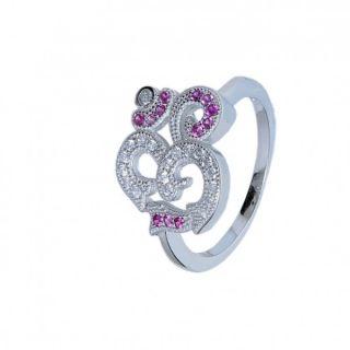 Aman lavish Gift Silver RingD8NV0781