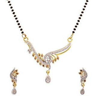Luxor Modern Designer American Diamond Studded Mangal Sutra MS-1236