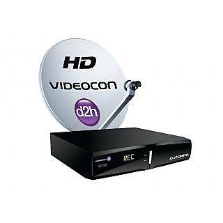 Online Videocon d2h HD DVR 1000GB with 2 Months Subscription