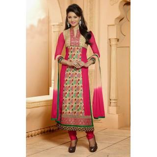 Ethnicbasket Designer Pink Salwar KameezAnarkali Suit