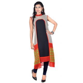 Vivaa Casual Georgette Long Kurti / Tunic VNK-34