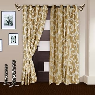 StoryHome foam Door Curtain NatureDNR3002