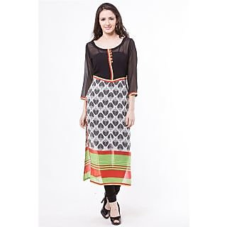 Vivaa Casual Georgette Long Kurti / Tunic VNK-40