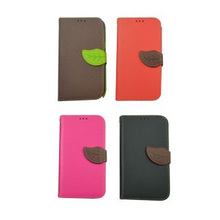 Leather Flip Case For N 7100/Samsung Galaxy Note 2 / Red Colour