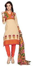 Florence Mustard Ganesha Vol-09 Cotton Printed Suit